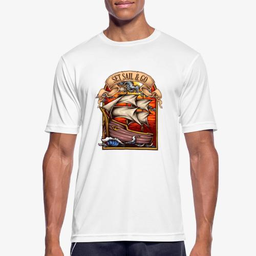 L'explorateur - T-shirt respirant Homme