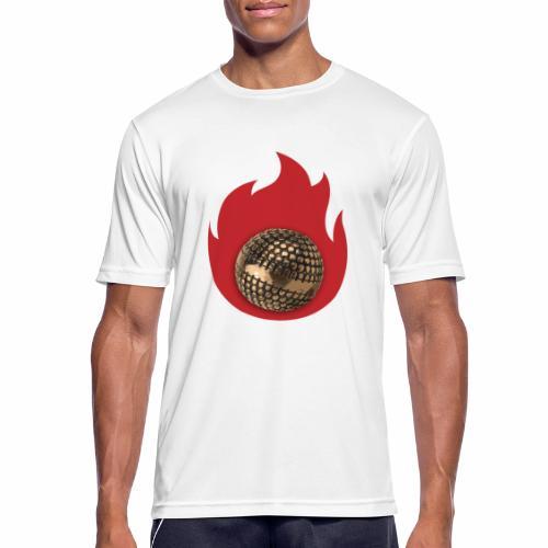 petanque fire - T-shirt respirant Homme