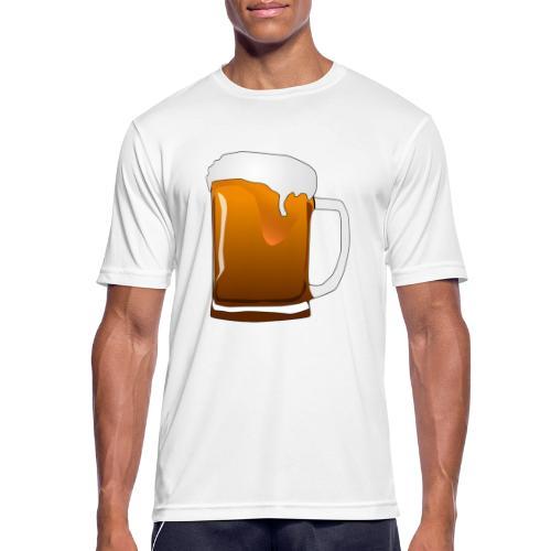 Cartoon Bier Geschenkidee Biermaß - Männer T-Shirt atmungsaktiv