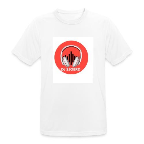 Logo van DJ Sjoerd - Mannen T-shirt ademend actief
