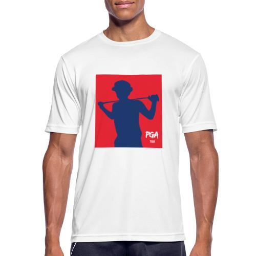 PGA newbie - miesten tekninen t-paita