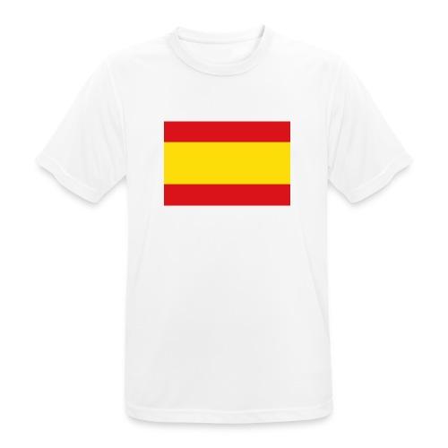 vlag van spanje - Mannen T-shirt ademend actief