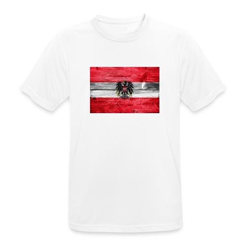 Austria Holz - Männer T-Shirt atmungsaktiv