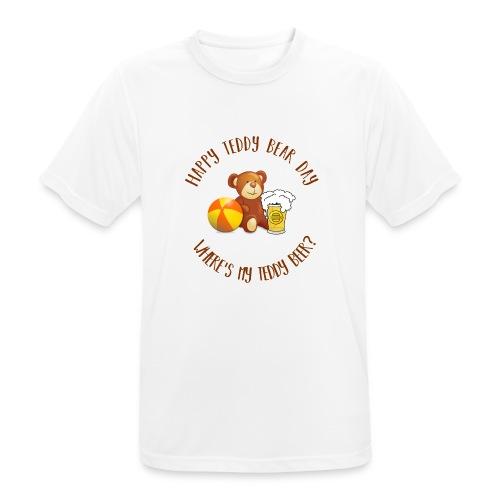 Happy Teddy Bear Day - T-shirt respirant Homme