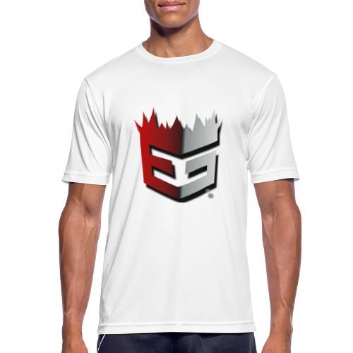 Explosive-Gains Official Logo - Männer T-Shirt atmungsaktiv