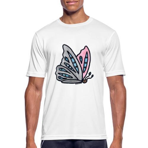Fjäril - Andningsaktiv T-shirt herr