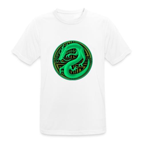 logo mic03 the gamer - Maglietta da uomo traspirante