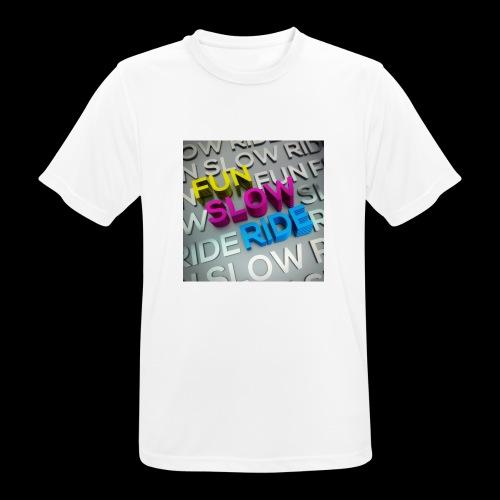 COVER ALBUM Fun Slow Ride 1024x1024 - Maglietta da uomo traspirante