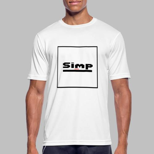 Standard Simp Logo Design - Mannen T-shirt ademend actief