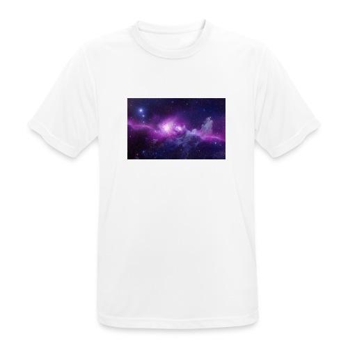 tshirt galaxy - T-shirt respirant Homme