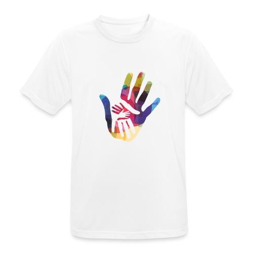 logo_storien - Pustende T-skjorte for menn