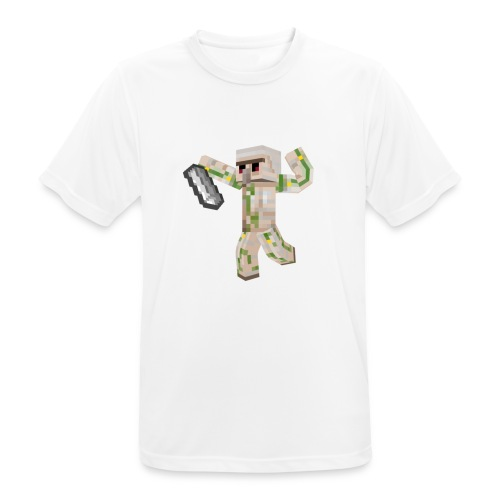 Starka GolemGamingYT - Andningsaktiv T-shirt herr