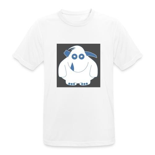 Pinky Monster - Men's Breathable T-Shirt