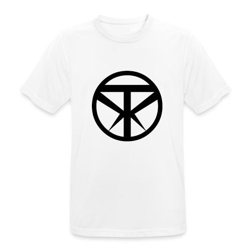 Tridex Logo Black - Men's Breathable T-Shirt