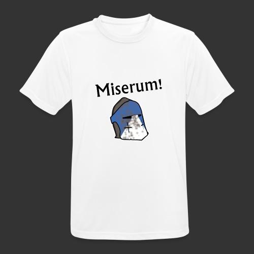 Warden Cytat Miserum! - Koszulka męska oddychająca