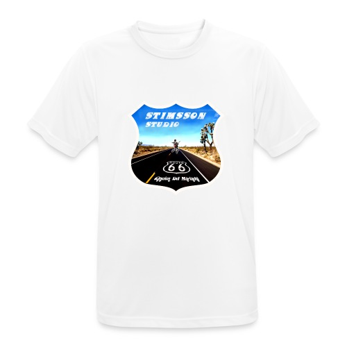 STIMSSON STUDIO - Andningsaktiv T-shirt herr