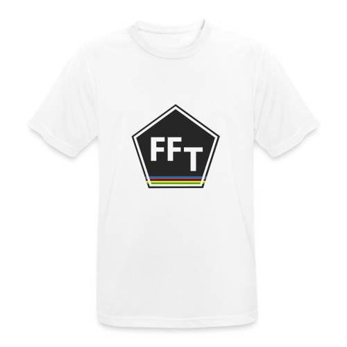FFT logo colour (Fastfitnesstips) - Men's Breathable T-Shirt