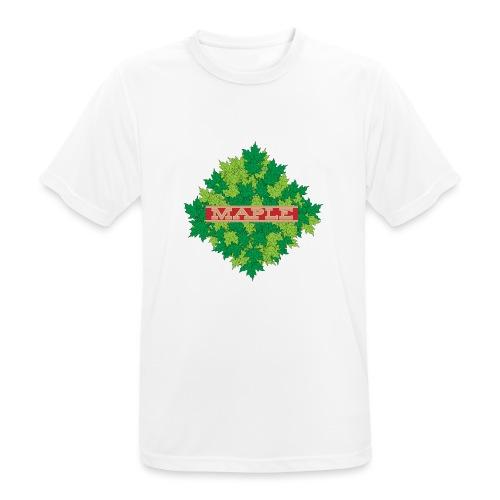 maple - Männer T-Shirt atmungsaktiv