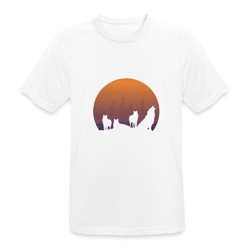 Wolfsrudel - Männer T-Shirt atmungsaktiv