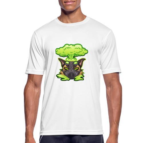 Atom Mutts - miesten tekninen t-paita
