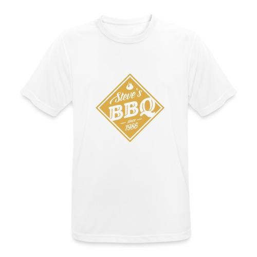 Steve`s BBQ - Männer T-Shirt atmungsaktiv