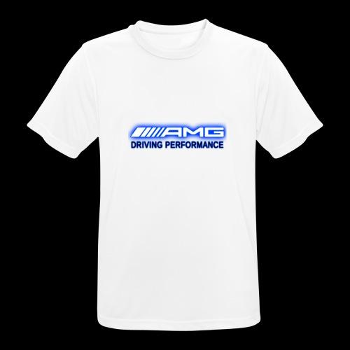 AMG Blue-Edition NEON - Männer T-Shirt atmungsaktiv