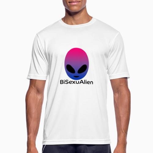 BiSexuAlien - Men's Breathable T-Shirt