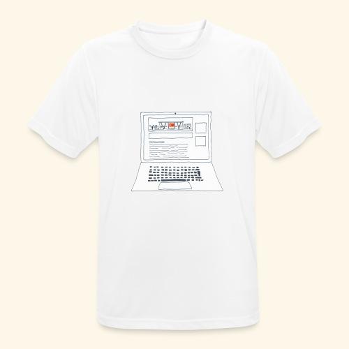 Laptop 20CENT Retail - T-shirt respirant Homme