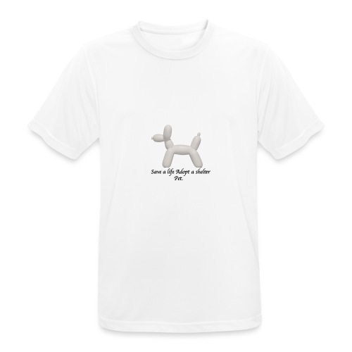 Save A Life - Men's Breathable T-Shirt