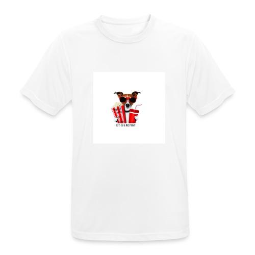 Let's Go & Rock Today Dog Part - Men's Breathable T-Shirt
