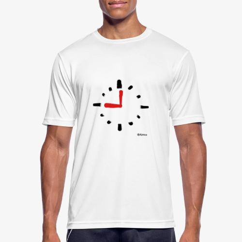 Kello - miesten tekninen t-paita