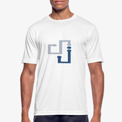 Amo la música DJ - Camiseta hombre transpirable