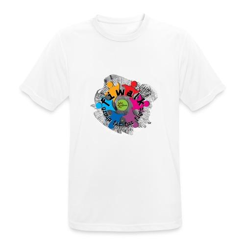 Logomania - Maglietta da uomo traspirante