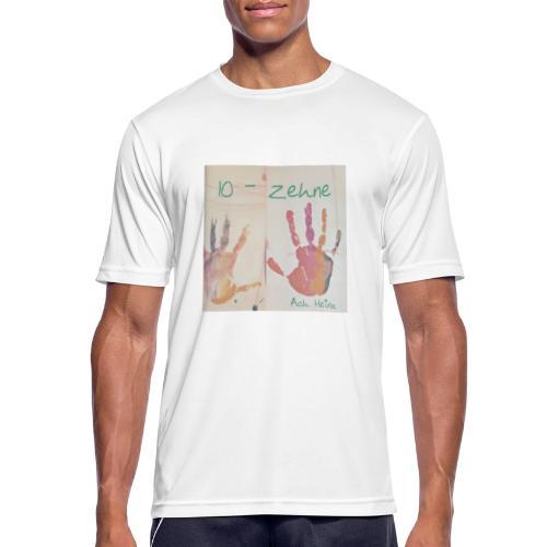 Zehne -10 - Männer T-Shirt atmungsaktiv