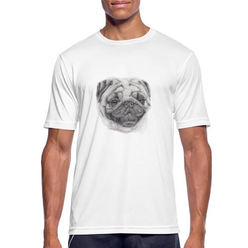Pug mops 2 - Herre T-shirt svedtransporterende