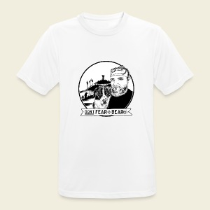 Don't fear the BEAR(d) - Männer T-Shirt atmungsaktiv