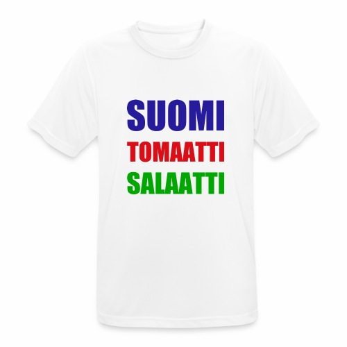 SUOMI SALAATTI tomater - Pustende T-skjorte for menn