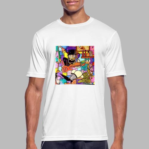 Vunky Vresh Vantastic - Mannen T-shirt ademend actief