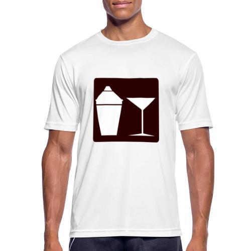 Alkohol - Männer T-Shirt atmungsaktiv