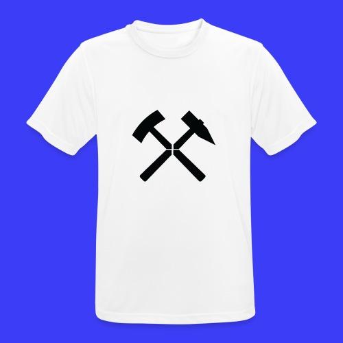 Pałki żelazne - Koszulka męska oddychająca