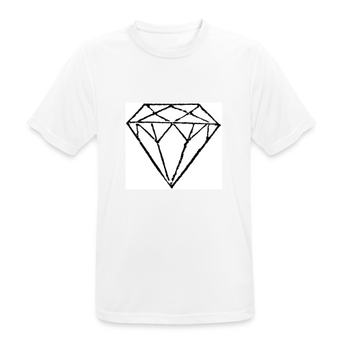 Diamond - Andningsaktiv T-shirt herr