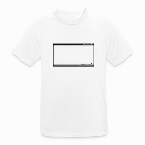 The Scots Review GO LIVE! Logo - Men's Breathable T-Shirt