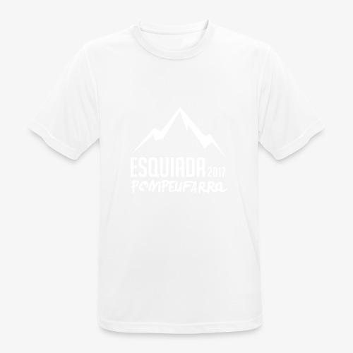 Esquiada Pompeufarra 2017 white - Camiseta hombre transpirable