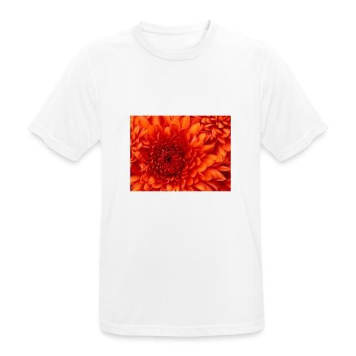 Chrysanthemum - Mannen T-shirt ademend actief