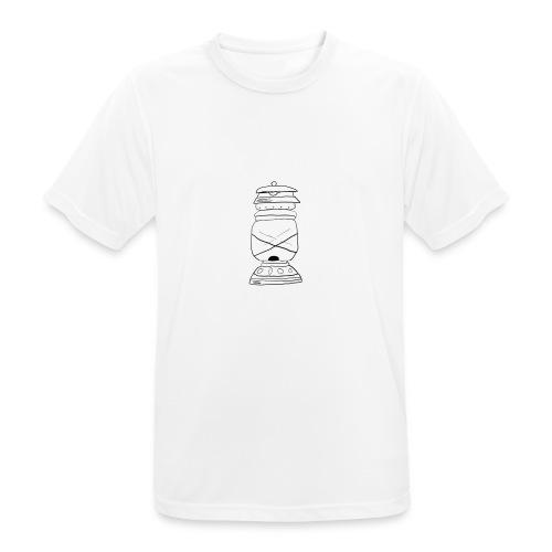 lampada olio oil lamp - Maglietta da uomo traspirante
