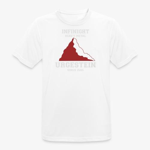 IN Urgestein Gipfel hell - Männer T-Shirt atmungsaktiv