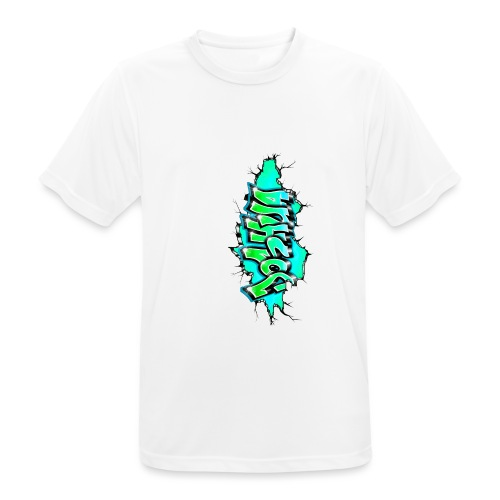 GRAFFITI JOSHUA PRINTABLE WALL BROKE - T-shirt respirant Homme