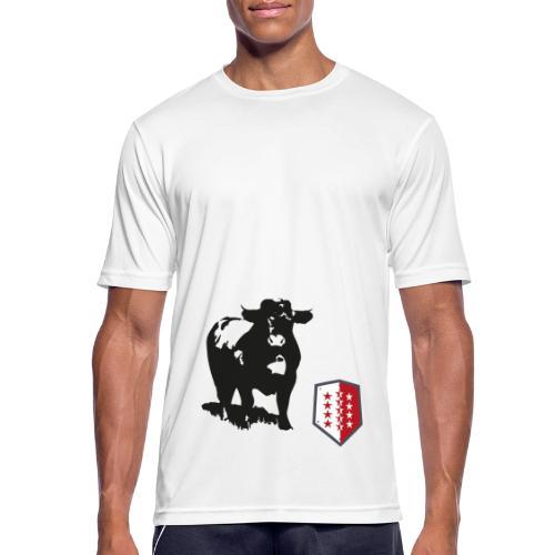 Vache - Cow - Männer T-Shirt atmungsaktiv