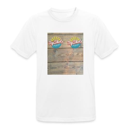 TenSlippers - Mannen T-shirt ademend