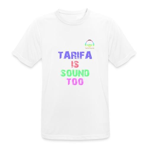Tarifa tambiés es sonido - Camiseta hombre transpirable